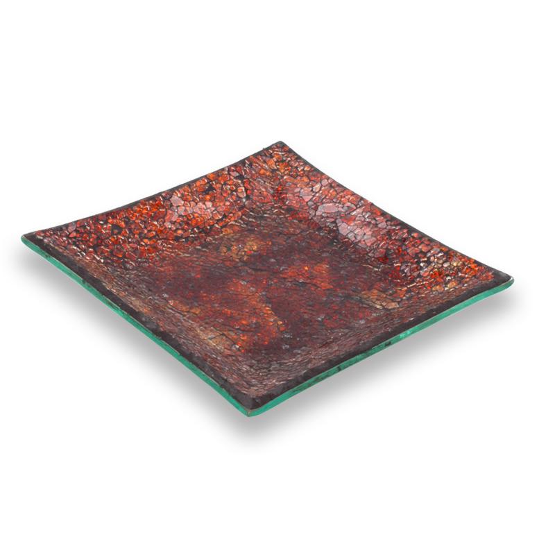 Desert Flame Mosaic Plate