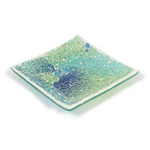 Shimmering Sea Mosaic Plate