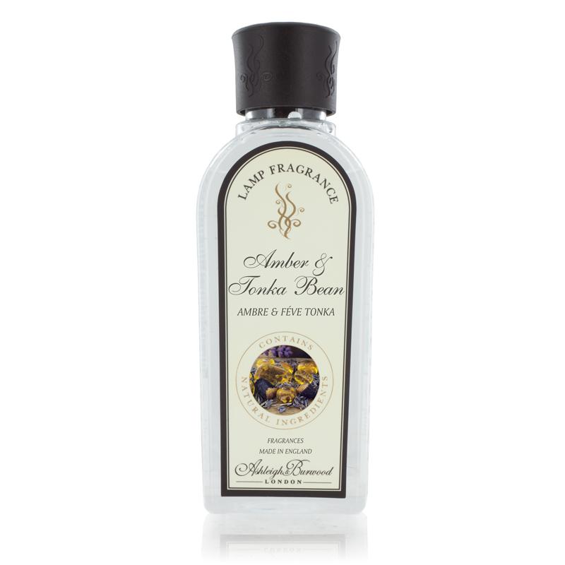 Amber & Tonka Bean 250ml Fragrance Lamp Refill Oil