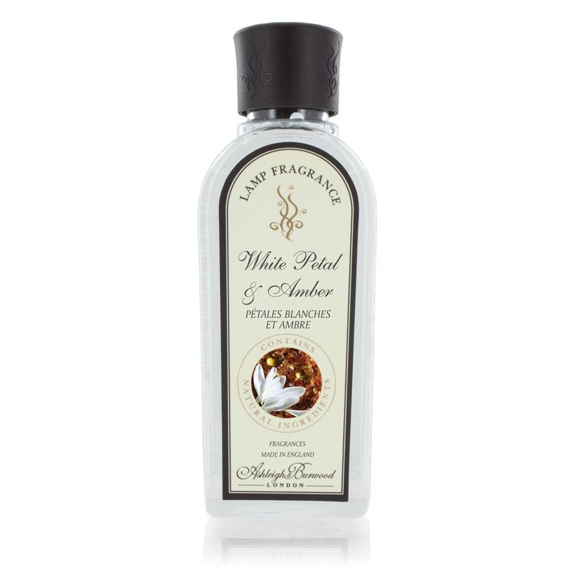 White Petal & Amber 250ml Fragrance Lamp Refill Oil
