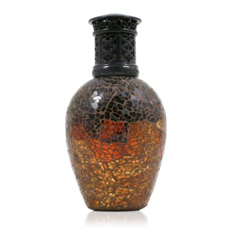 Burnt Amber Orange Fragrance Lamp