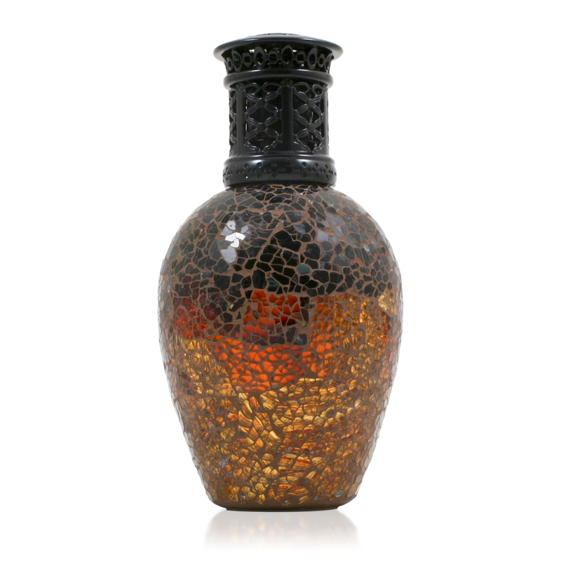 Burnt Amber Orange Fragrance Lamp