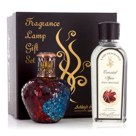 Harlequin Fragrance Lamp & Oil Gift Set