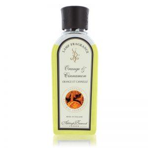 Orange & Cinnamon 250ml Fragrance Lamp Refill Oil