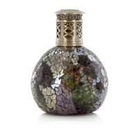 Autumn Leaves Green Brown Sliver Fragrance Lamp