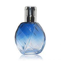 Blue Spiral Large Glass Fragrance Lamp