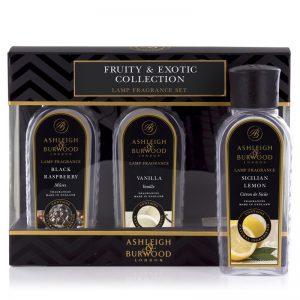 Fragrance Lamp Oil Fruity & Exotic Sampler Pack