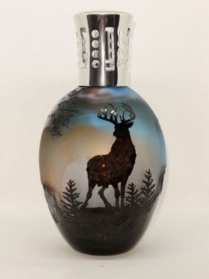 highland stag cameo lamp