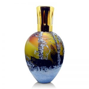 Topaz Wolves Unique Handmade Fragrance Lamp